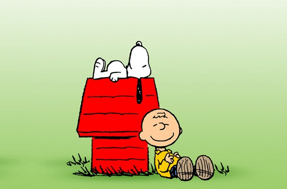Charlie Brown y Snoopy
