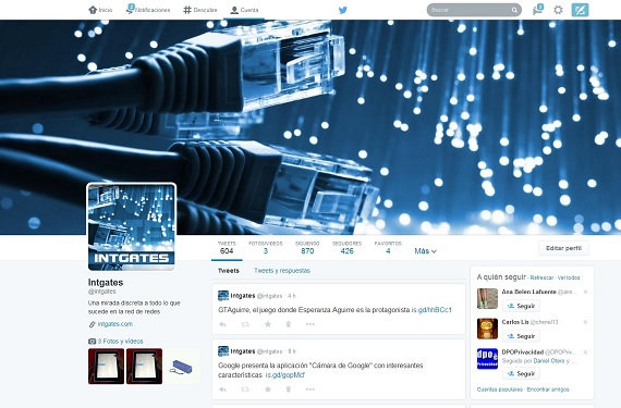 Diseño Twitter