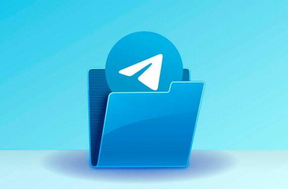 Carpetas en Telegram
