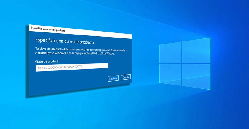 Clave Windows 10