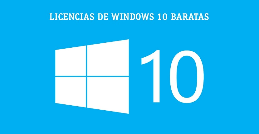 Licencias Windows 10 baratas